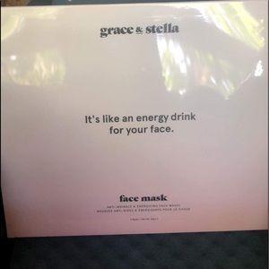 Grace & Stela anti-wrinkle sheet face mask🧖🏼♀️
